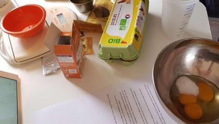 ingrédient beignet