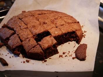Brownie au chocolat léger