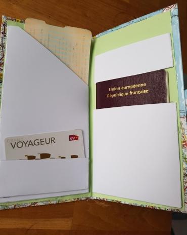 portefeuille de voyage