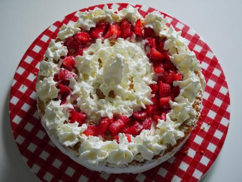 fraisier à la chantilly